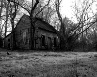 Swamp Shack BW