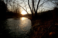 Pigeon River Sunset